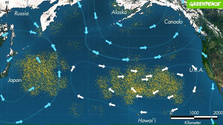 Resultado de imagen de islas de plástico