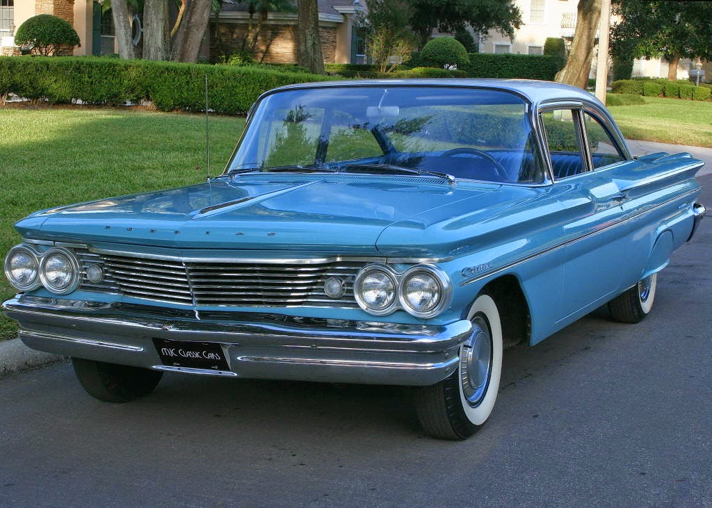 all american classic cars 1960 pontiac catalina 2 door. Black Bedroom Furniture Sets. Home Design Ideas
