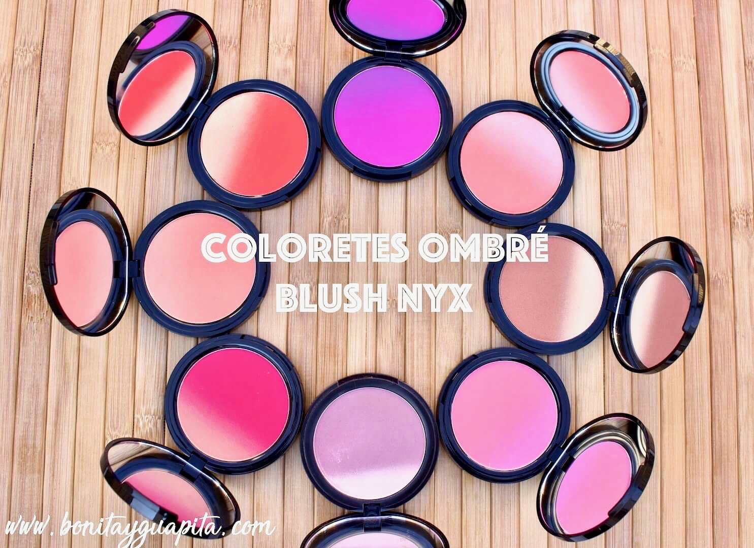 Coloretes Ombre Blush de NYX