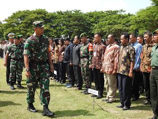 Presiden Kunjungi Lombok, Pangdam IX/Udayana Tekankan Empat Pedoman Pada Apel Gelar Pasukan Pam VVIP