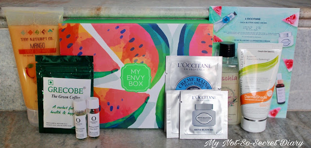My Envy Box May 2017 : Unboxing And Review