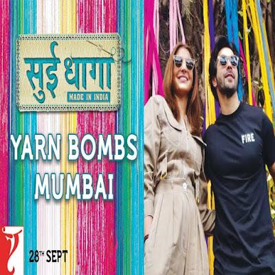 surprise bomb Mumbai Anushka Sharma and Varun Dhawan Sui Dhaaga – Made in India 2018
