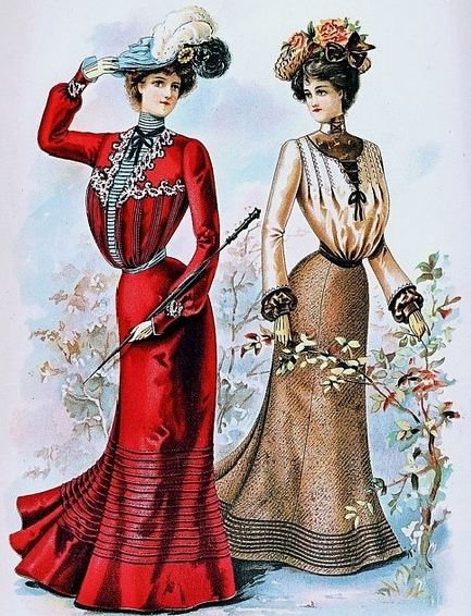 DevilInspired Gothic Victorian Dresses: Early 1900 Fashion
