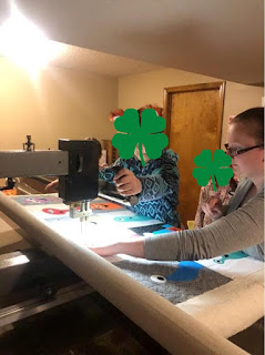 Teaching kids to use the longarm