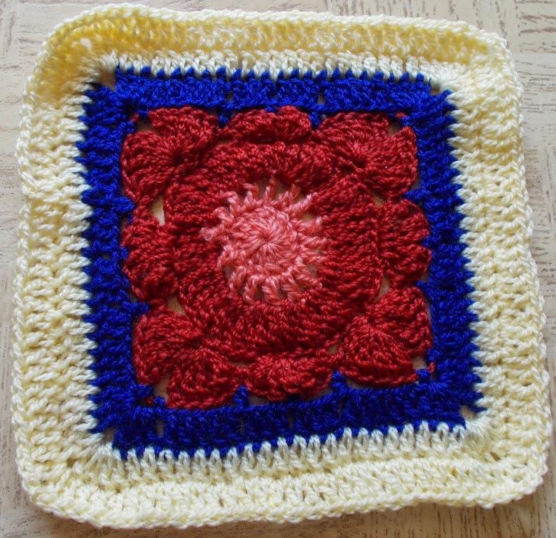 Sweet Nothings Crochet 21 Flower Granny Squares
