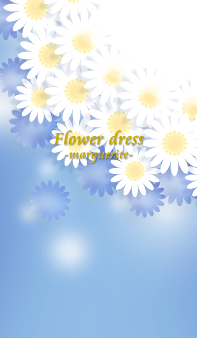 Flower dress -marguerite-