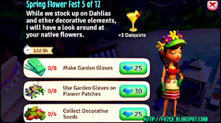 Lily, fvtropicescape, colorful gardener clothes, quest