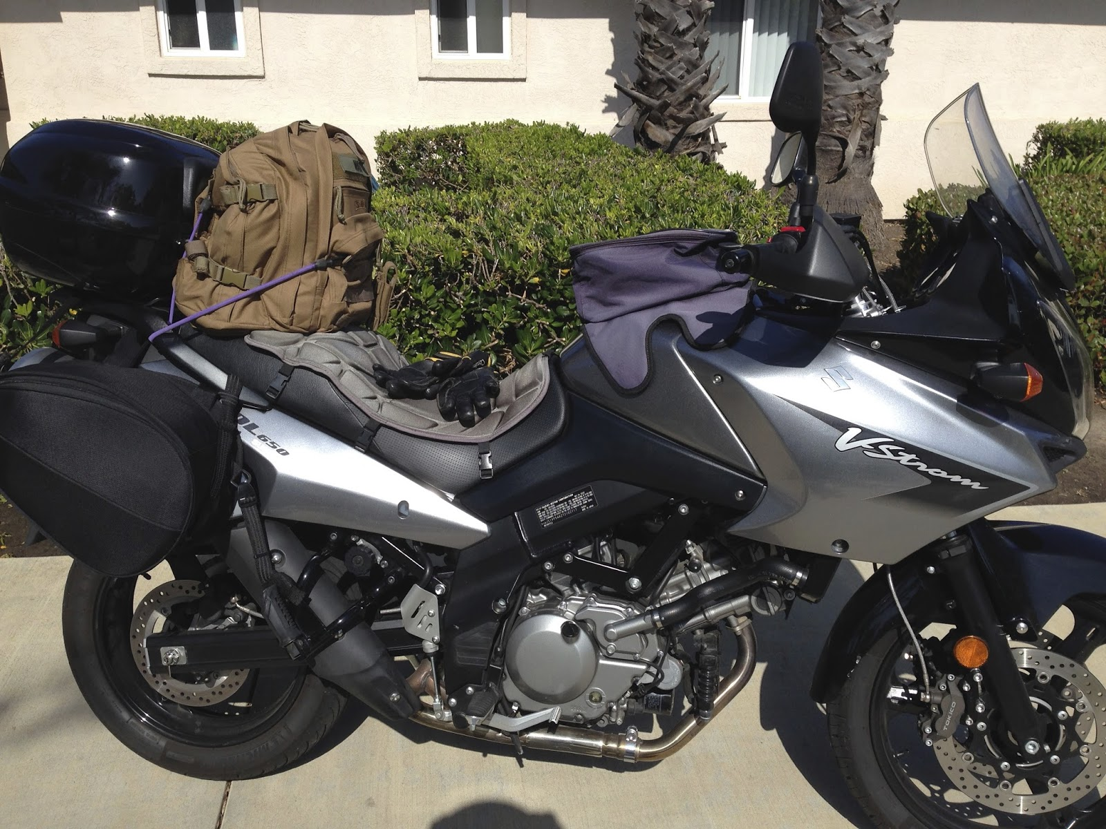Motorcycle Tour Luggage combos