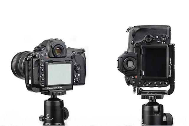 Sunwayfoto PNL-D850 on Nikon D850 landscape and portrait