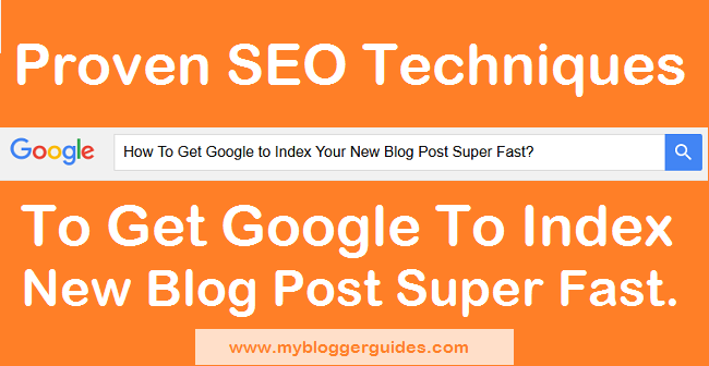 Index Super Fast, New Blog Post Google Index, How to Index on Google