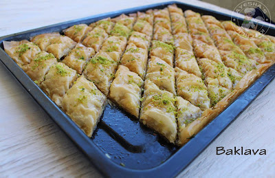 Ayesha's kitchen sweets recipes baklava perfect kunafa arab sweets birds nest Ramadan recipes