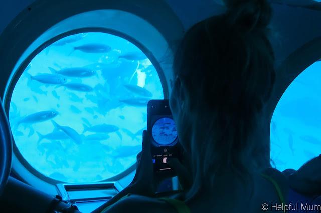 submarine ride Tenerife