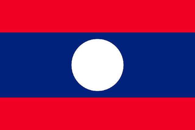 Gambar Bendera Laos terbaru