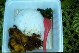 Ayam Srundeng Sambel Lombok Ijo