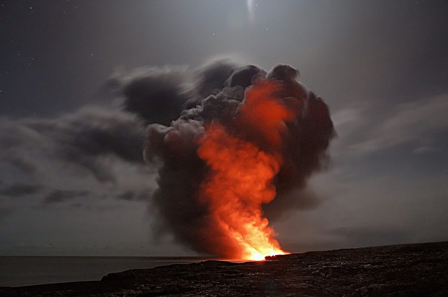 effects of volcanic eruption