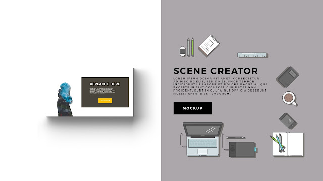 Free Infographic Scene Creator for Powerpoint Template Slide 4