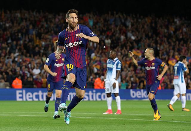 غيابات بالكوم في تشكيلة برشلونة امام إسبانيول