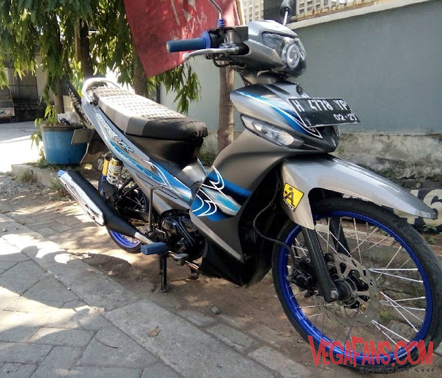 Vega ZR Modif Thailook Abu Abu Simple