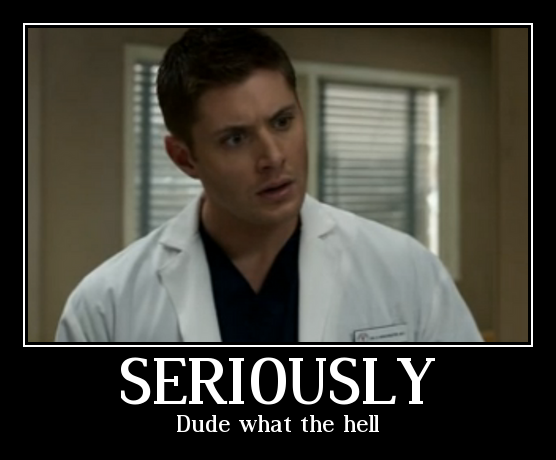 Funny Supernatural Meme Demotivational Poster