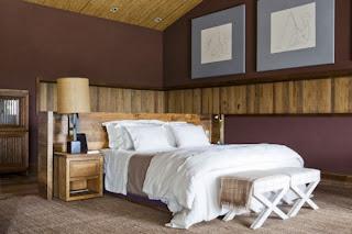 Decoración dormitorio rústico
