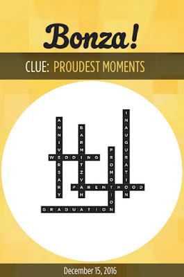 December 15 2016 Bonza Daily Word Puzzle Answers