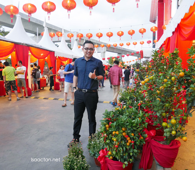 A big thumbs up to Da Men for organizing their first ever Chinese New Year Street Market