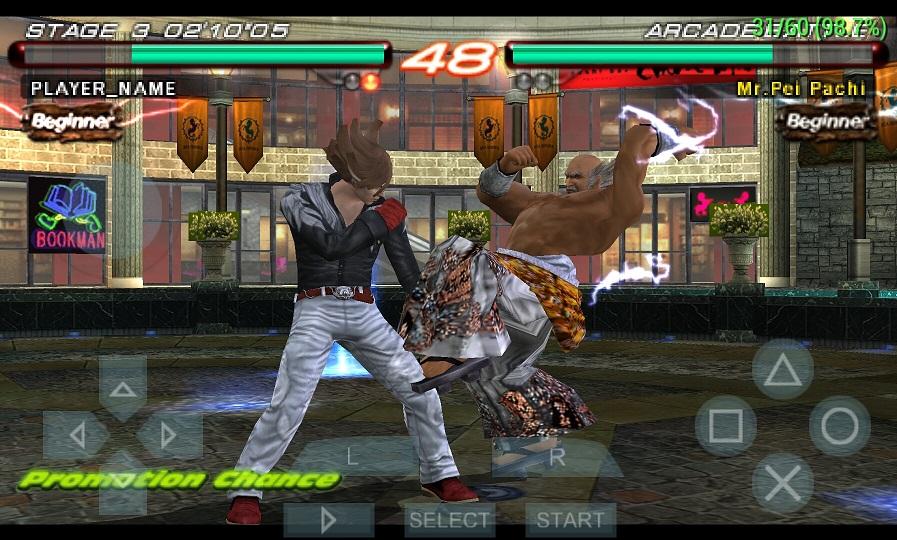 Tekken 5 For Ppsspp