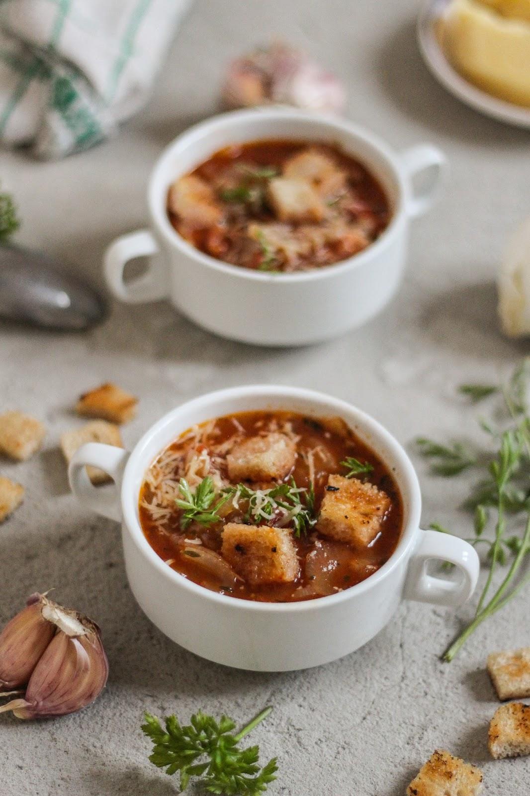włoska zupa cebulowa recipes