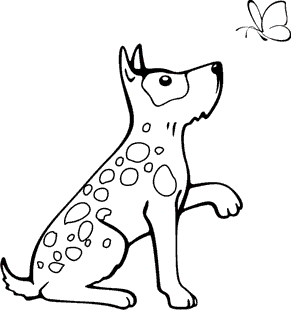 malvorlagen zum ausmalen: malvorlagen hunde: ausmalbilder für kinder