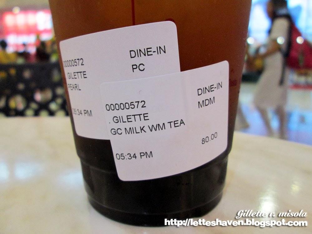 Gong Cha Milk Winter Melon Tea