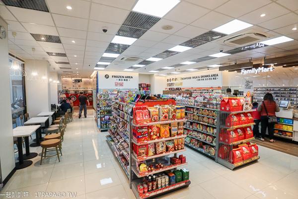 全家大里河堤店首家結合自助洗衣、仿手沖咖啡和甜點的台中特色超商