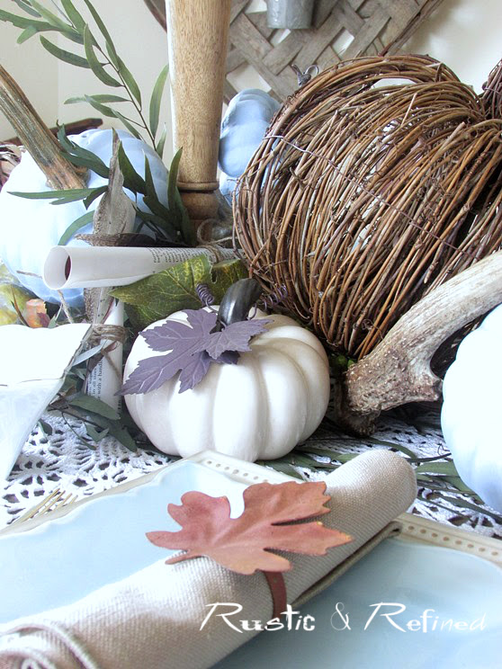 Budget Friendly Fall Table