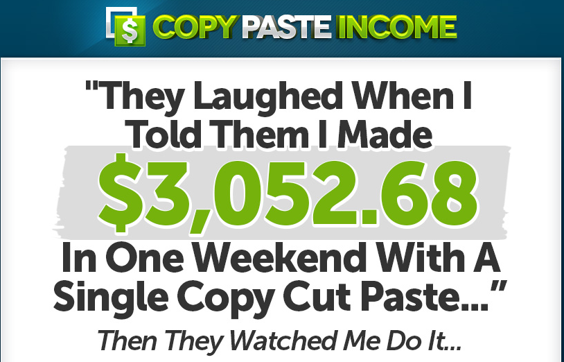 Earn 3000 per week just by simple copy paste job here for In this house copy and paste
