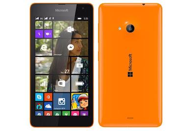 Thay mặt kính lumia 540 chính hãng