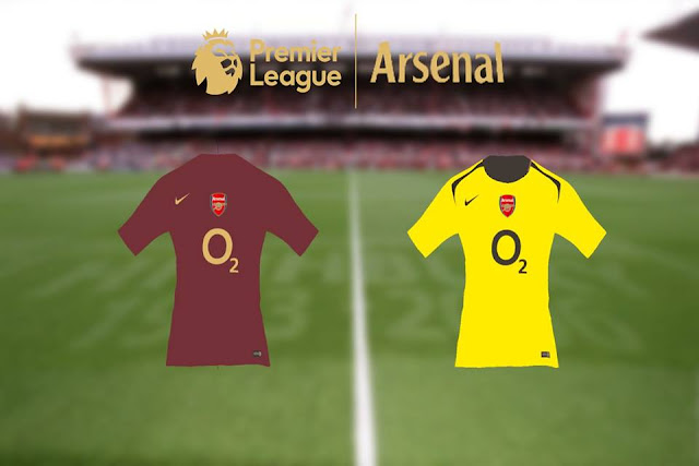 1f7d7bc6a85 Arsenal 2005/06 Kits - PES 2017 - PATCH PES | New Patch Pro ...