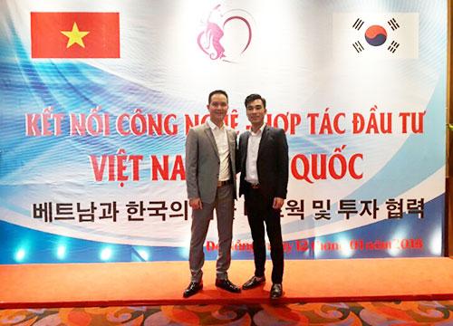 tham gia chương trình kết nối công nghệ hợp tác đầu tư Việt Hàn