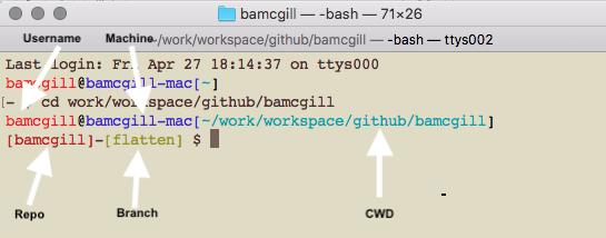 Making Git cmd line fancy - ish :) | Barry McGillin