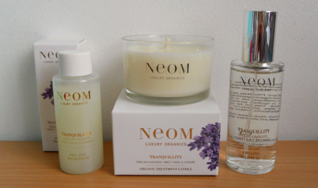 Neom perfect night's sleep kit, Neom tranquillity