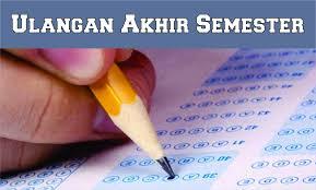 Jadwal UAS 1 SD/SMP/SMA Tahun 2016