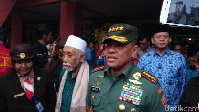 Panglima TNI: Jangan Ikuti Ulama yang Ideologinya Diluar Pancasila
