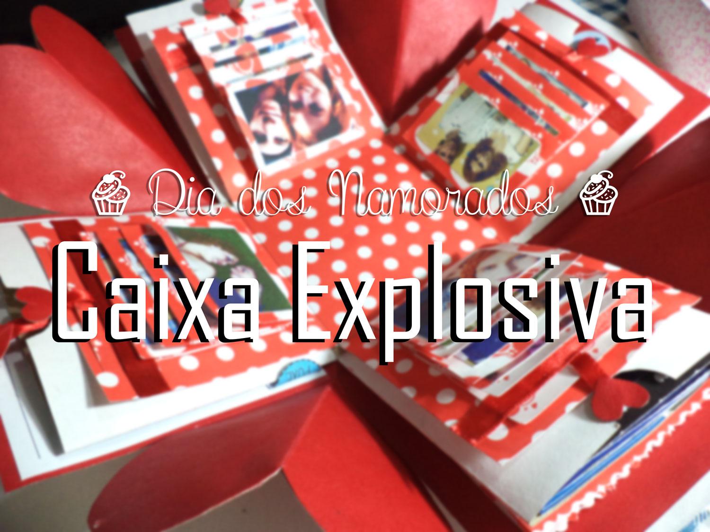 Devaneios Adocicados Diy Dia Dos Namorados Caixa Explosiva