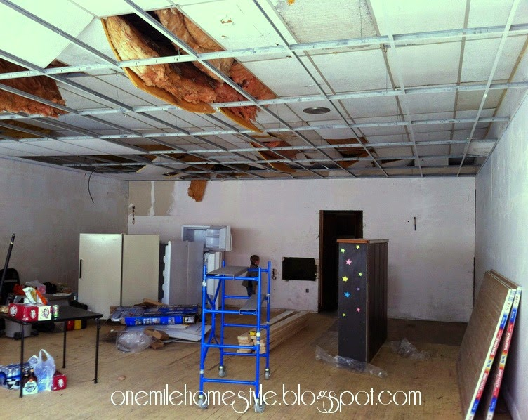 Aunt Netter's Cafe - Before