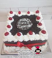 Kue Tart Ulang Tahun Blackforest Kotak