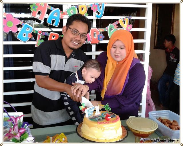 The 1st Birthday Boy Story Dekorasi Simple Majlis Harijadi