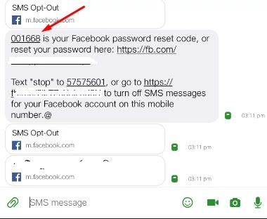 Facebook password kholna hai