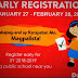 Early Registration for SY 2018-2019