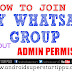HOW TO JOIN IN ANY WHATS APP GROUP WITHOUT ADMIN PERMISSION | ANDROID SUPERSTARS