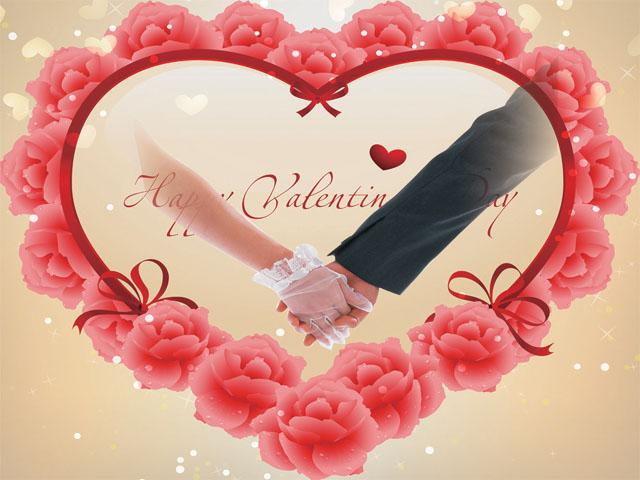 PSD Wedding and Love Backgrounds, تحميل فريم قلب ورود الزهريه مفتوحه للفوتوشوب, PSD Pink Hearts Flowers Background,