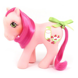 MLP Strawberry Surprise Year Six Sweetberry Ponies G1 Pony