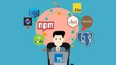 TypeScript, Node, ES6 e Postgres - CRIE PROJETOS DO ZERO!
